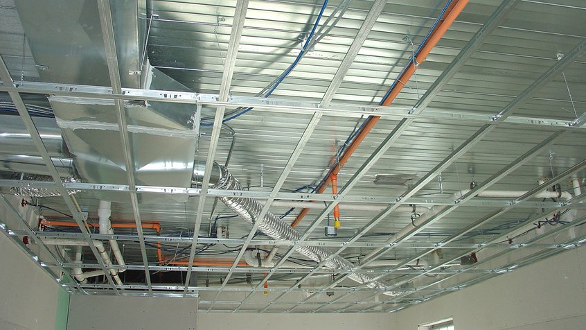 Suspended Drywall Ceiling