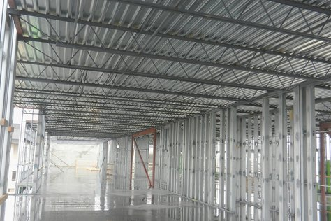 Bar Joist Roof on Infinity Wall Panels